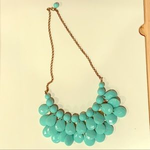 Turquoise Colored Acrylic Costume Jewelry NWOT